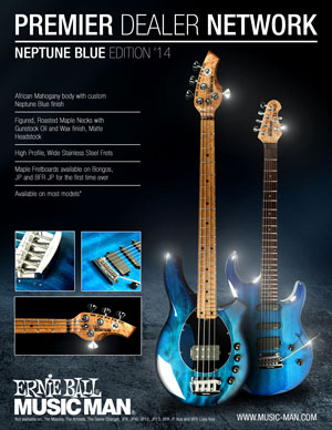 Music Man PDN Neptune Blue Limited Edition 300