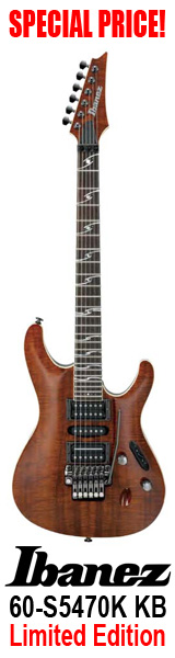 Ibanez 60-S5470K KB Koa Limited Edition