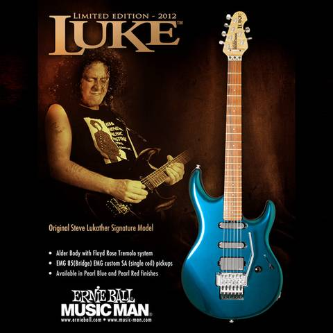Music Man Luke I FR Reissue Limited Edition 300